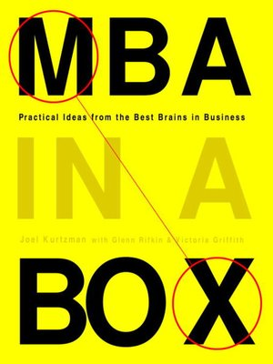 cover image of MBA in a Box