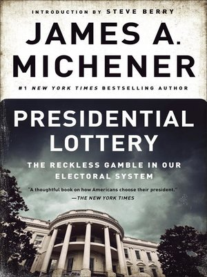 cover image of Presidential Lottery