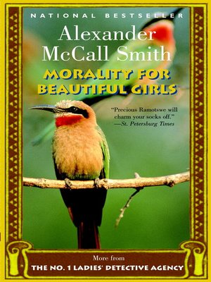 Title details for Morality for Beautiful Girls by Alexander McCall Smith - Available