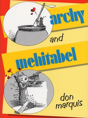 cover image of Archy and Mehitabel