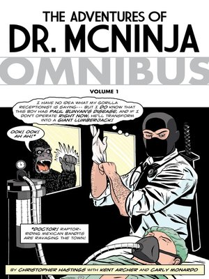 cover image of The Adventures of Dr. McNinja (2006), Omnibus Volume 1
