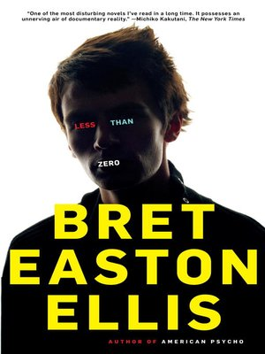 cover image of Less Than Zero