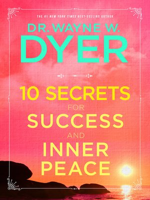 cover image of 10 Secrets for Success and Inner Peace