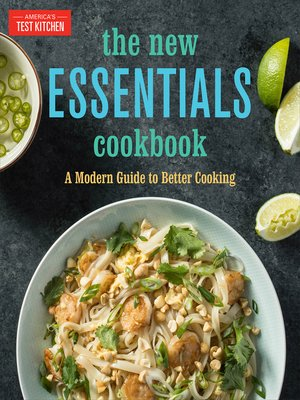 cover image of The New Essentials Cookbook