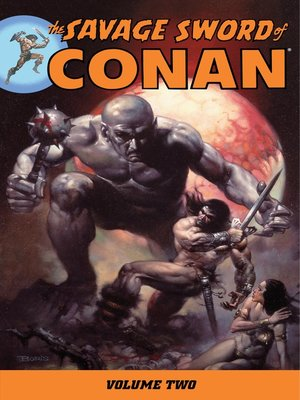 cover image of Savage Sword of Conan, Volume 2