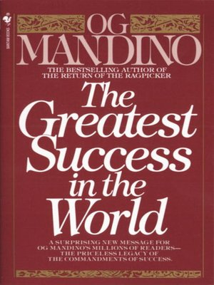 cover image of The Greatest Success in the World