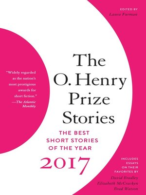cover image of The O. Henry Prize Stories 2017