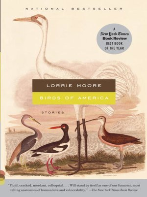 cover image of Birds of America