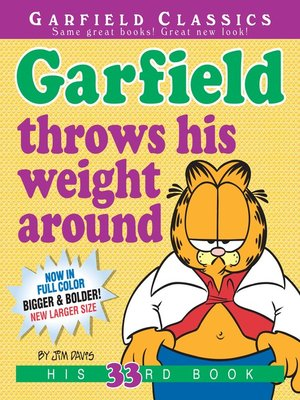 cover image of Garfield Throws His Weight Around