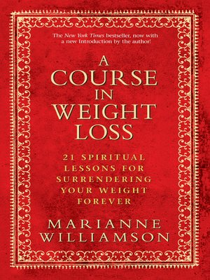 cover image of A Course In Weight Loss