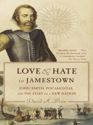 cover image of Love and Hate in Jamestown