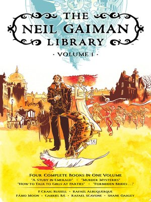 cover image of The Neil Gaiman Library, Volume 1