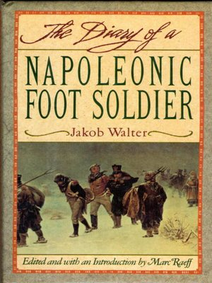 cover image of Diary of a Napoleonic Footsoldier