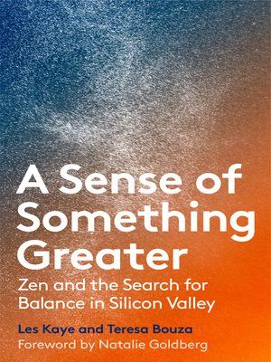 cover image of A Sense of Something Greater