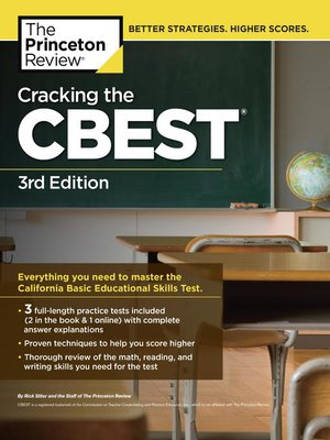 cover image of Cracking the CBEST