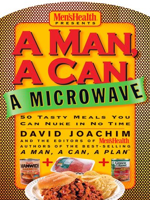 cover image of A Man, a Can, a Microwave