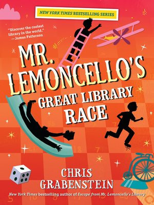 cover image of Mr. Lemoncello's Great Library Race