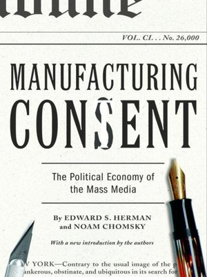 cover image of Manufacturing Consent