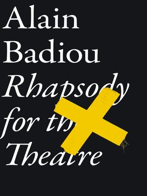 cover image of Rhapsody For the Theatre
