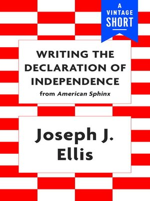 cover image of Writing the Declaration of Independence