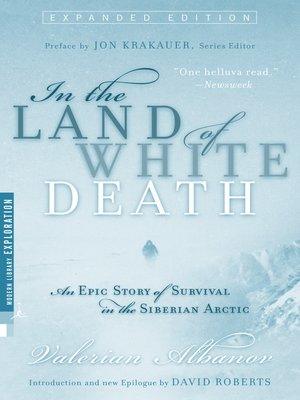 cover image of In the Land of White Death
