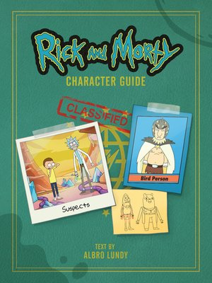 cover image of Rick and Morty Character Guide
