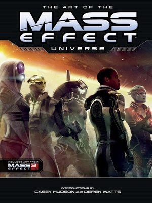 cover image of The Art of the Mass Effect Universe
