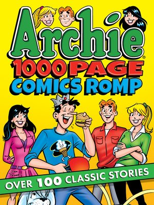 cover image of Archie 1000 Page Comics Romp