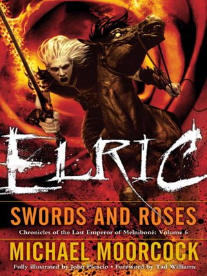 cover image of Elric Swords and Roses