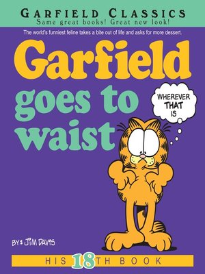 cover image of Garfield Goes to Waist