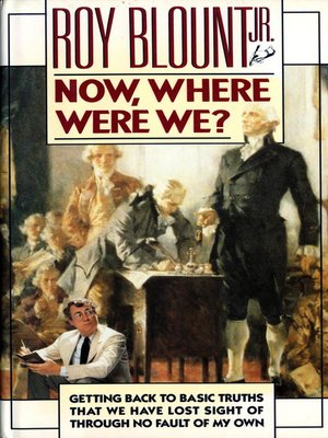 cover image of Now, Where Were We?