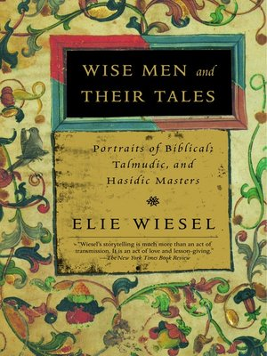 cover image of Wise Men and Their Tales