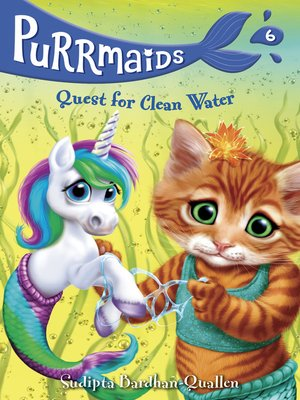 cover image of Purrmaids #6