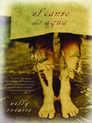cover image of El canto del agua