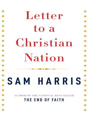 cover image of Letter to a Christian Nation