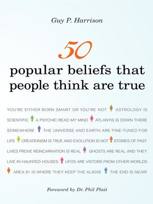 cover image of 50 Popular Beliefs That People Think Are True