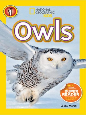cover image of National Geographic Readers: Owls