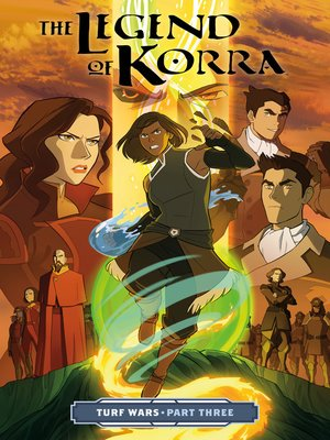 cover image of The Legend of Korra: Turf Wars (2017), Part Three