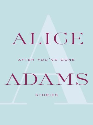 cover image of After You've Gone