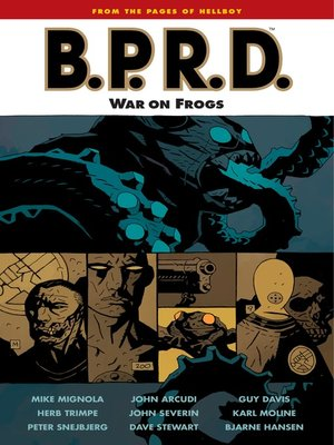 cover image of B.P.R.D. (2002), Volume 12