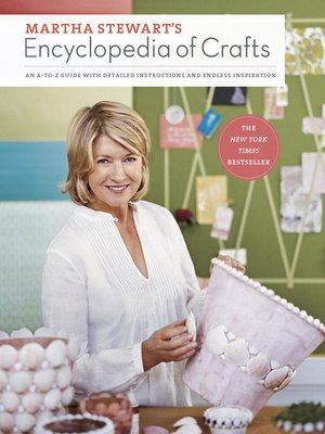 cover image of Martha Stewart's Encyclopedia of Crafts