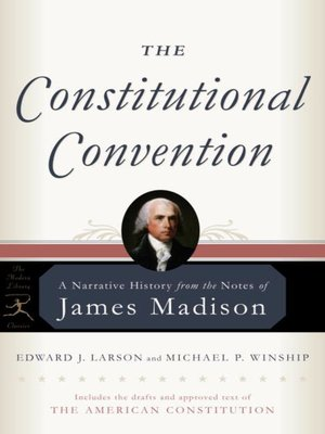 cover image of The Constitutional Convention