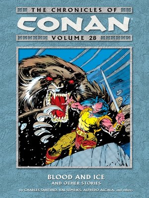 cover image of The Chronicles of Conan, Volume 28