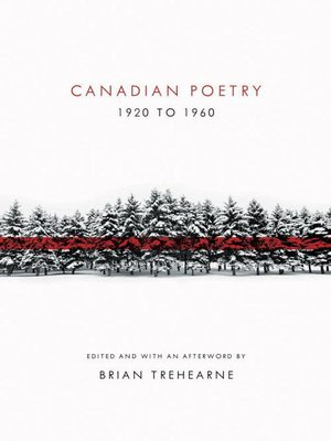 cover image of Canadian Poetry 1920 to 1960
