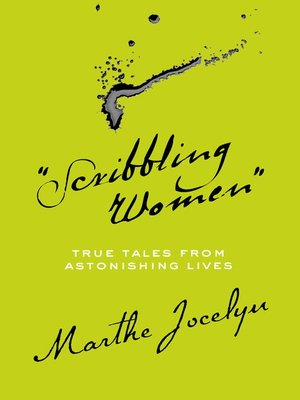 """cover image of """"Scribbling Women"""""""