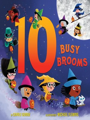 cover image of 10 Busy Brooms