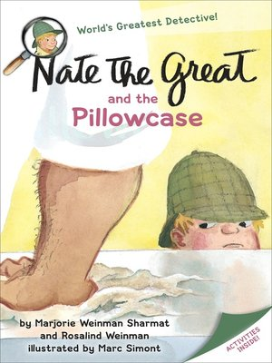 cover image of Nate the Great and the Pillowcase