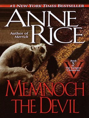 cover image of Memnoch the Devil