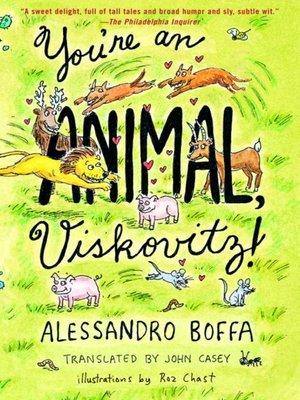 cover image of You're an Animal, Viskovitz