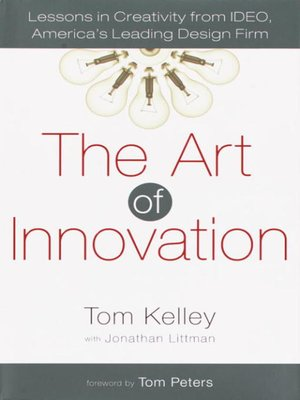 cover image of The Art of Innovation